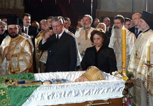 0041Престолонаследник Александар Карађорђевић са супругом грчком принцезом Катарином...